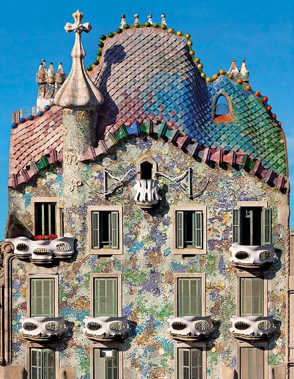 Casa Batlló, Gaudí, Barcelona