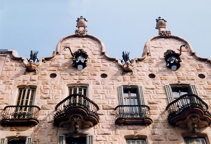 Casa Calvet. Gaudí, Barcelona