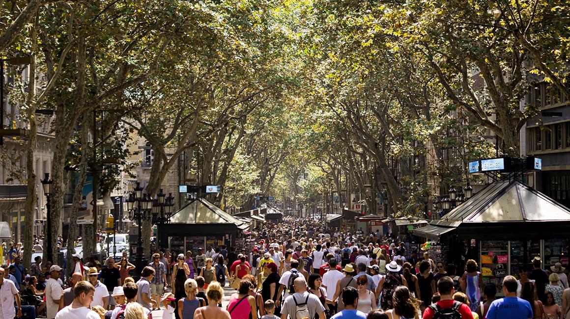 Las Ramblas de Barcelona - Ramblas Barcelona