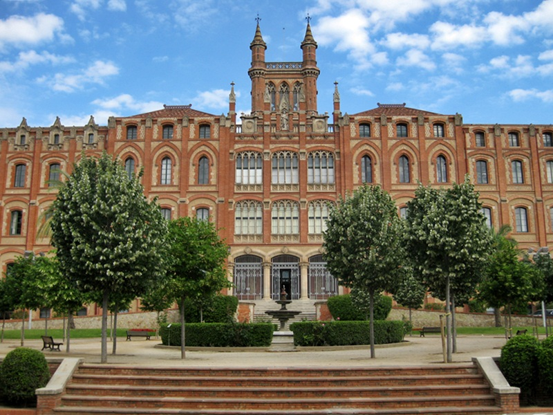Colegio Sant Ignasi de Sarrià - Aquitectura singular. Barcelona, architecture Barcelona
