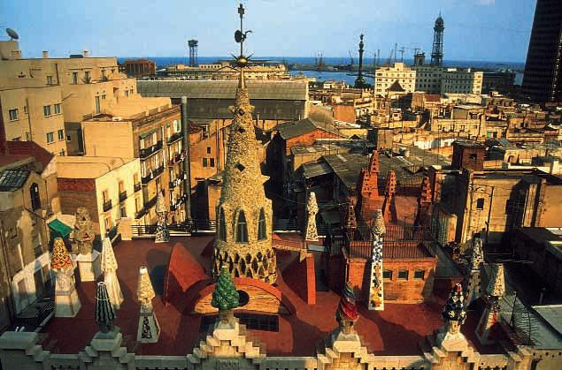Palacio Güell, Barcelona