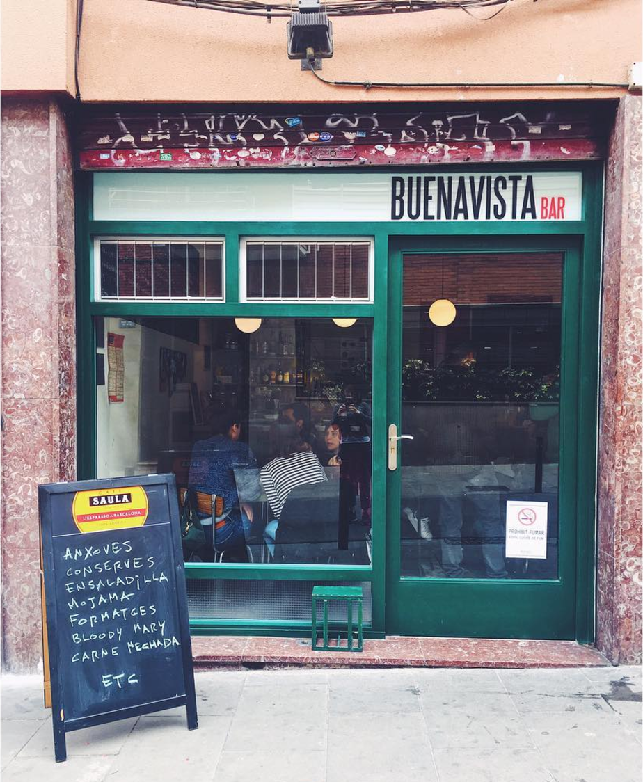 Buenavista Bar, Sants.