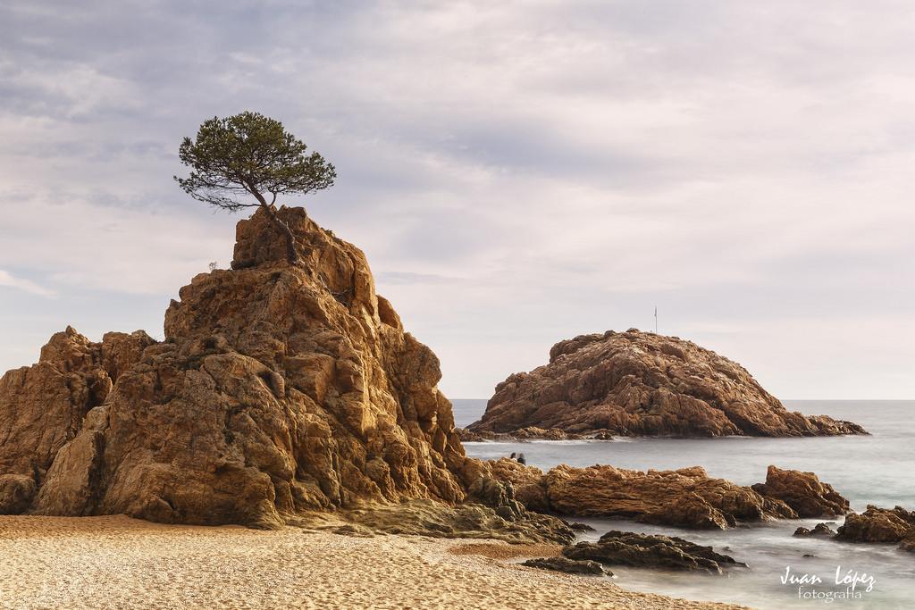Cala Menuda. Playa en Tossa de Mar, Gerona. Cala Menuda, beach at Tossa de Mar, Gerona. Best beaches catalonia
