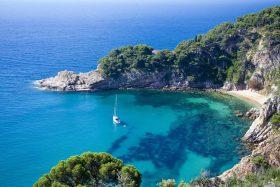 Cala de Sa Futadera, mejores playas cataluña. Cala de Sa Futadera, best beaches in Catalonia