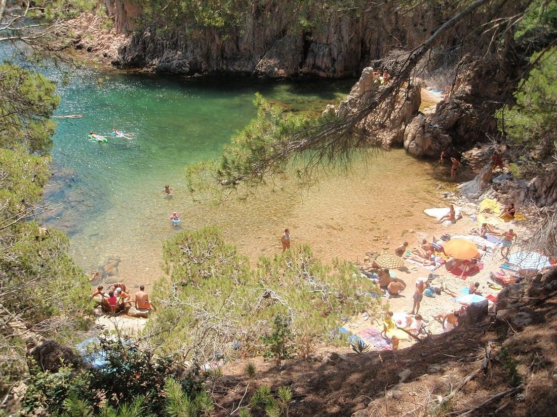 Aigua Xelida, Tamariu. Mejores playas Cataluña, best beaches Catalonia