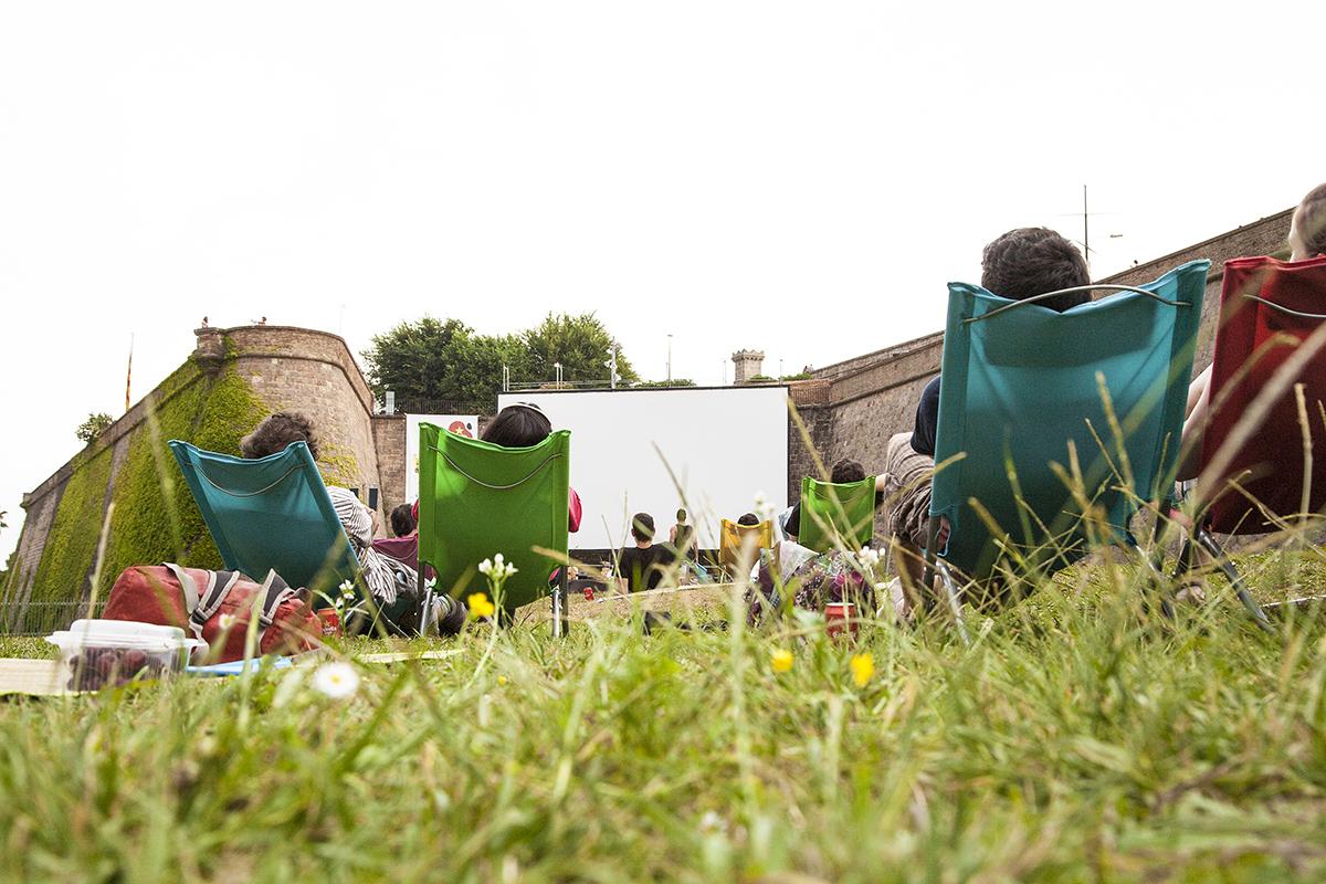 Cinema a la fresca, actividades verano en Barcelona.