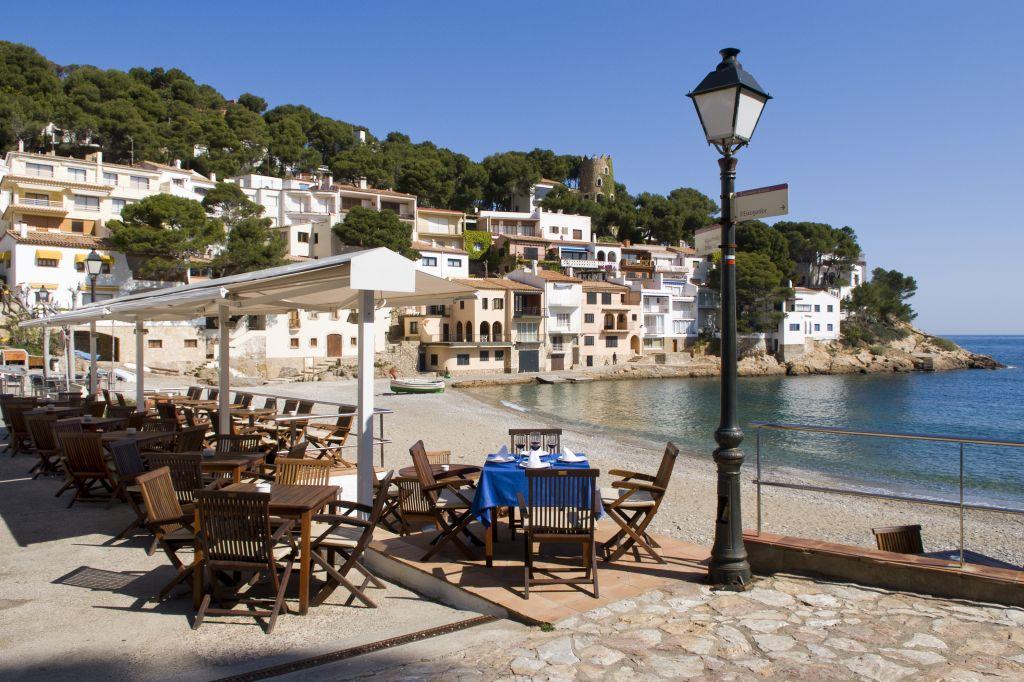 Playas Begur, Gerona. Mejores playas Cataluña. Cala Sa Tuna, Begur, Gerona. Best beaches Catalonia