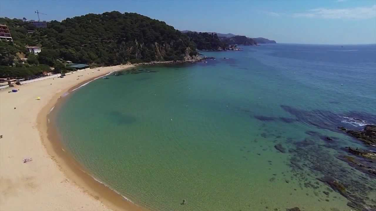 Playa de Santa Cristina, Lloret de Mar. Gerona. Mejores playas deCataluña. Best beaches Catalonia