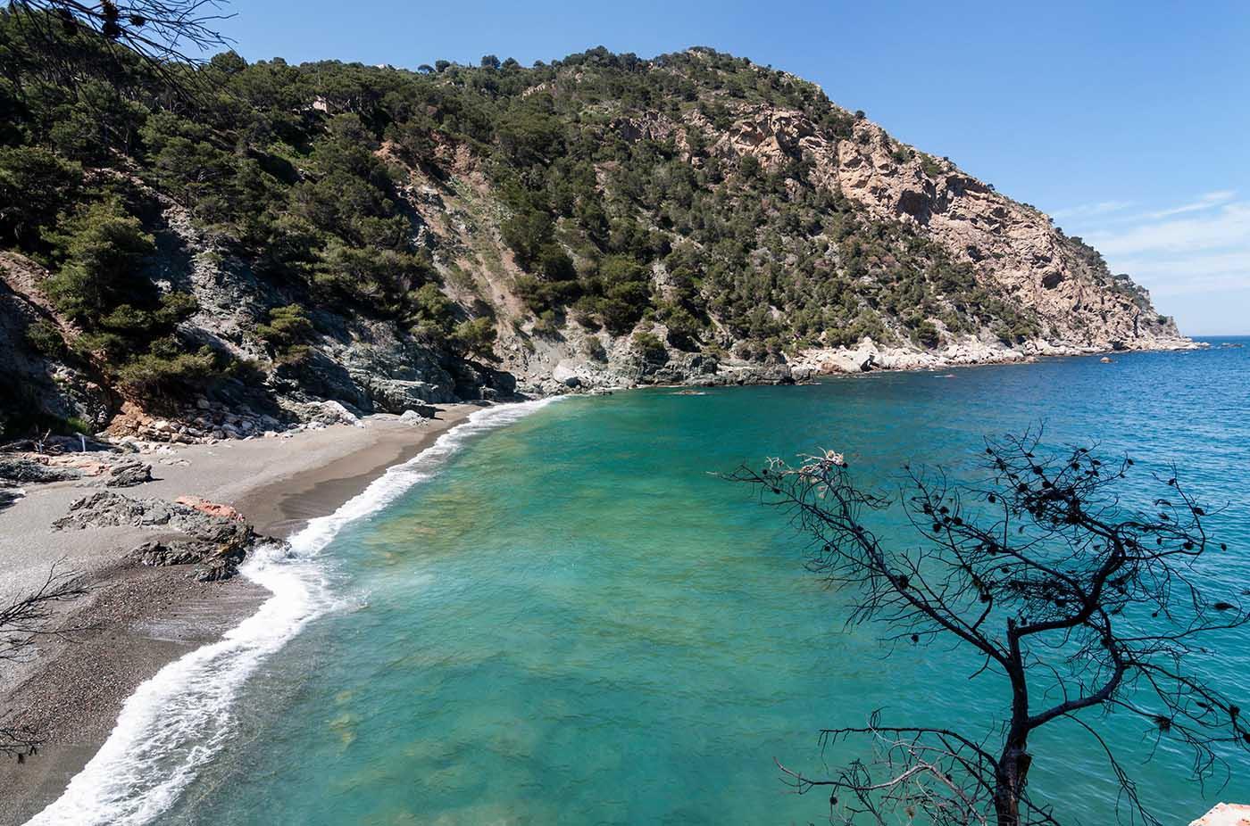 Cala Fonda, Tarragona. Mejores playas Cataluña. Best beaches Catalonia
