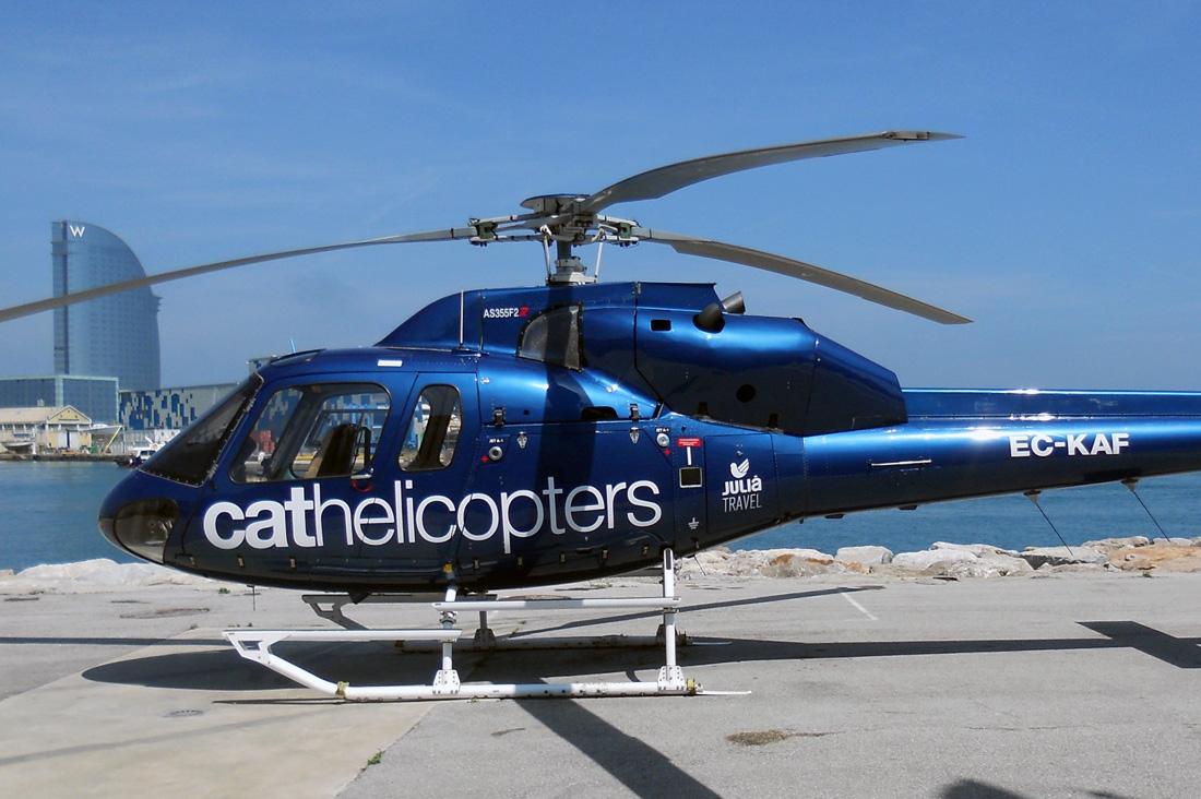 Ruta helicóptero Barcelona - Helicopter tours Barcelona