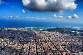 Barcelona desde el aire - Barcelona from the air