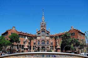 Hospital de Sant Pau, Barcelona, modernismo.