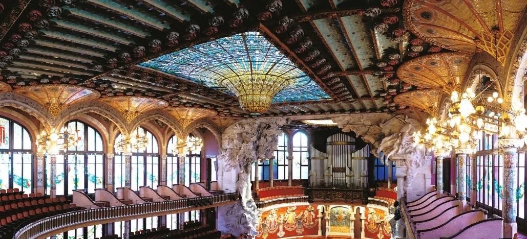 Palau de la Música, Barcelona, modernismo