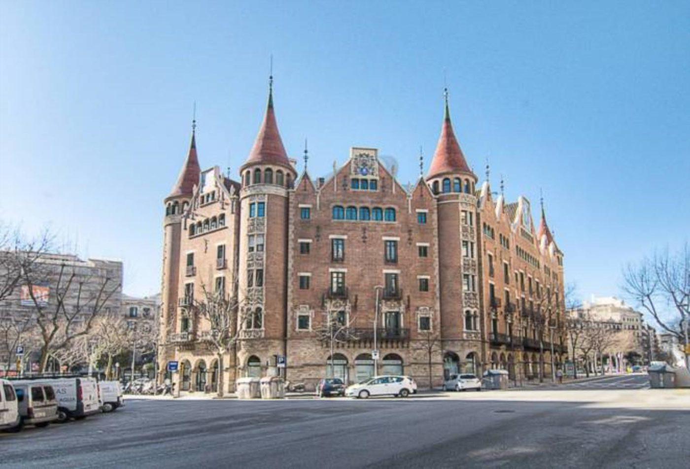 casa de les punxes, ruta modernista, Barcelona