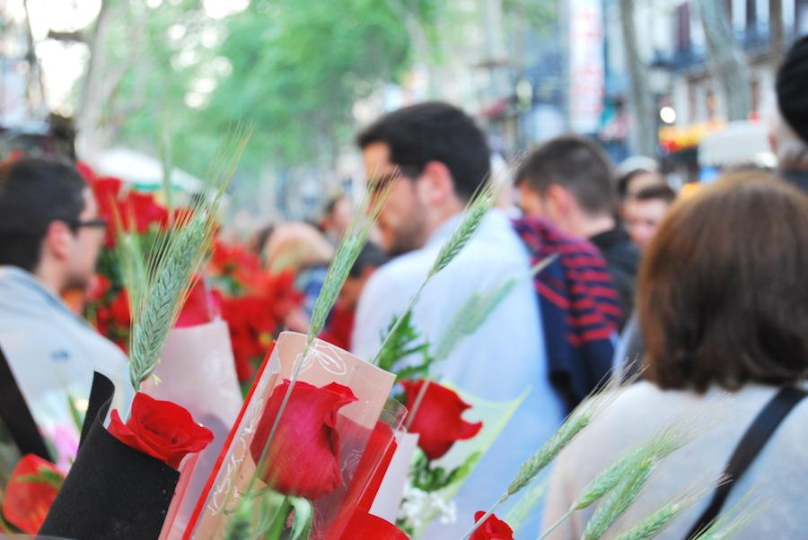 Sant Jordi en Barcelona / Sant Jordi in Barcelona