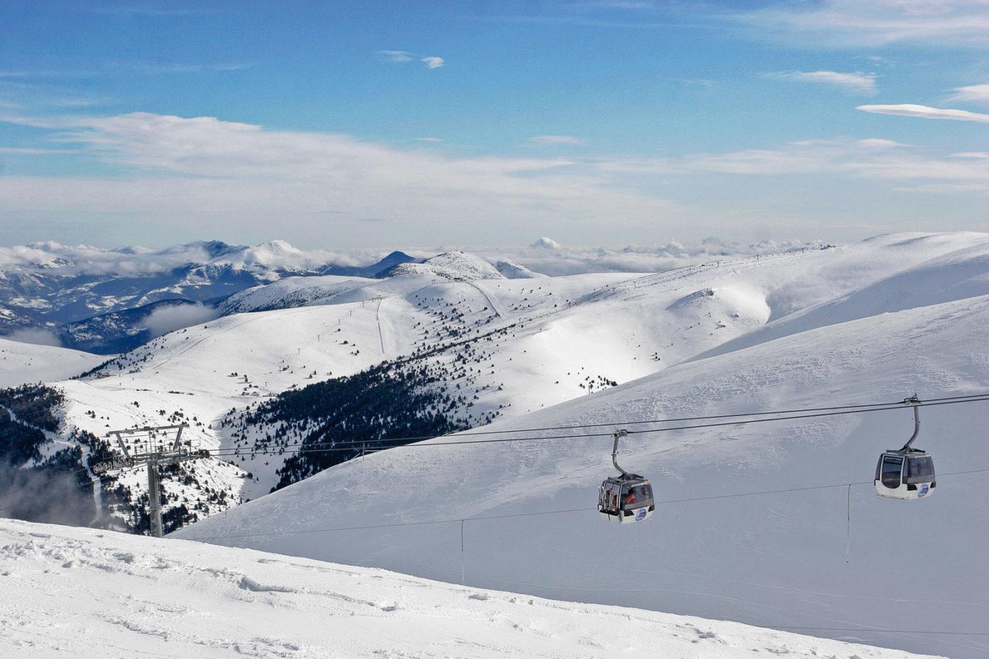 La Molina, estación de ski. La Molina Ski station