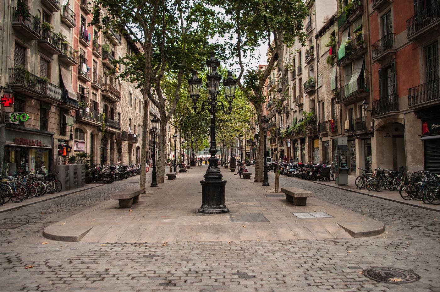 Paseo del Borne / Born street