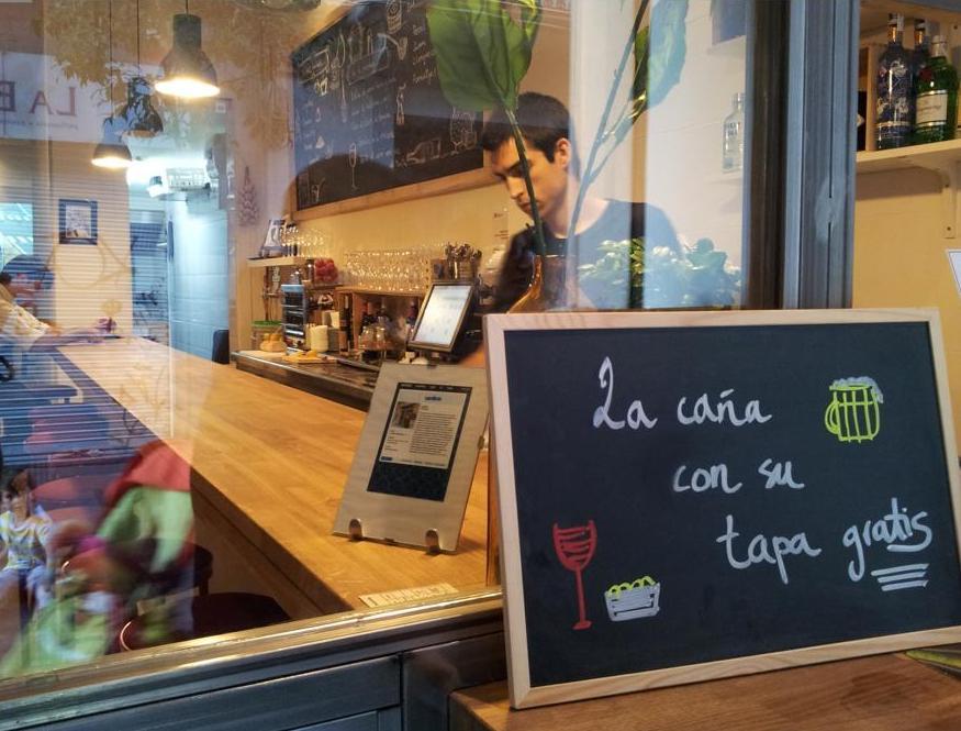 tapas gratis en Barcelona