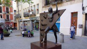 Plaza del diamante, refugios de guerra en barcelona, war shelters Barcelona