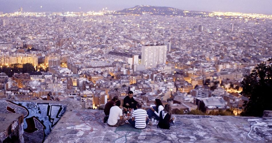 Bunkers carmel, refugios de guerra en barcelona, war shelters Barcelona