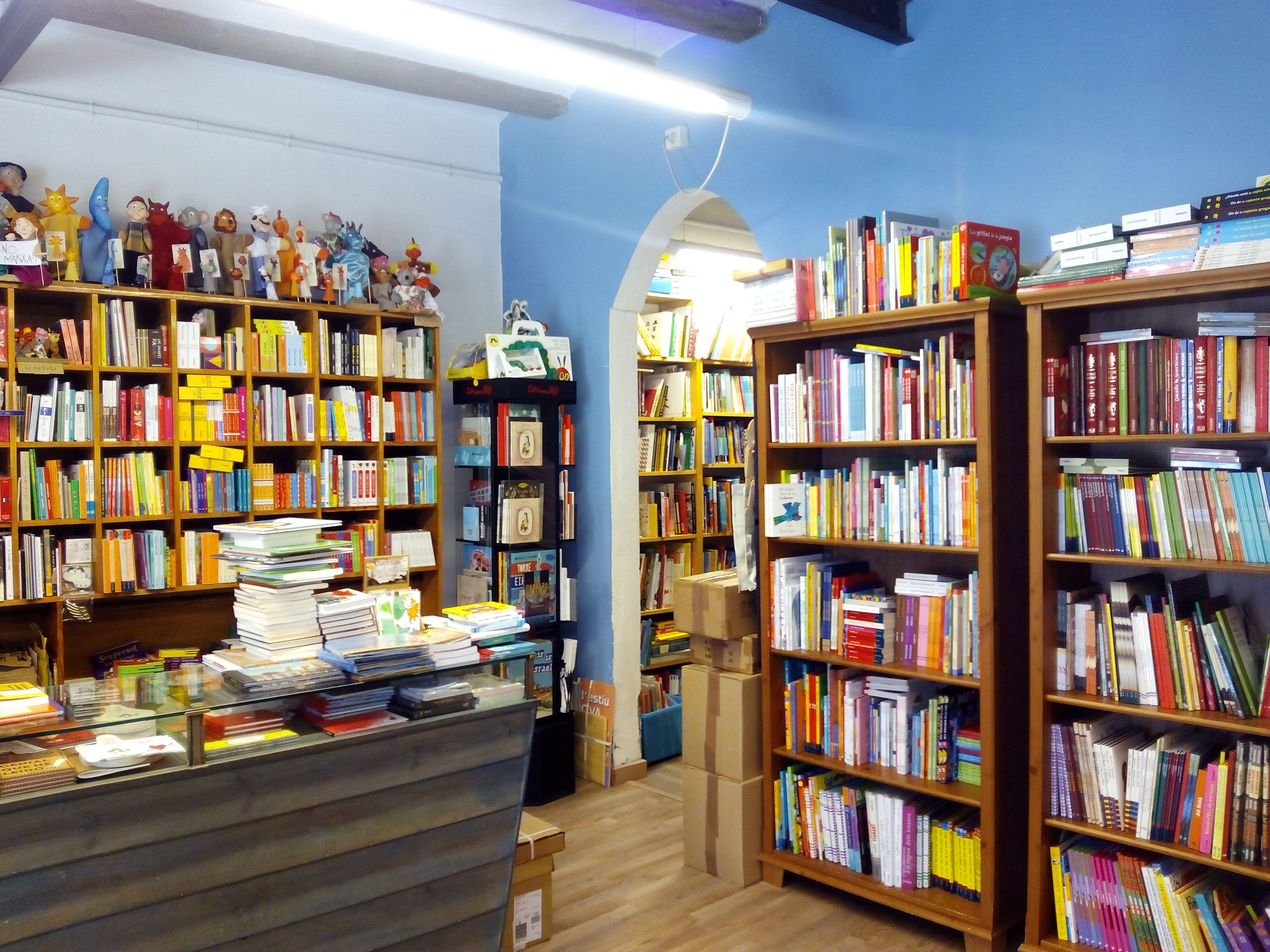 casa anita, barcelona. Librería infantil