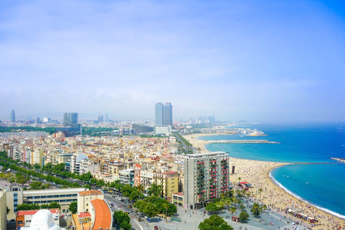 beaches barcelona