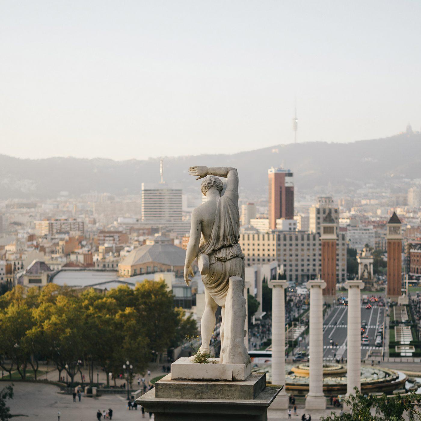 montjuic, barcelona