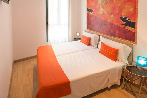 APART-SUITE HOSTEMPLO - Apartamento superior de 2 dormigtorio con balcón 2