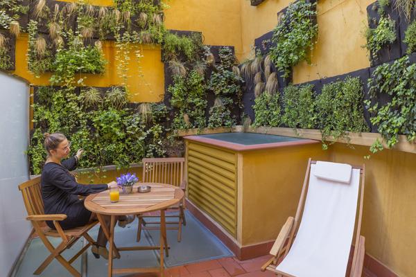 BOUTIQUE HOSTEMPLO - Habitación doble con terraza 3