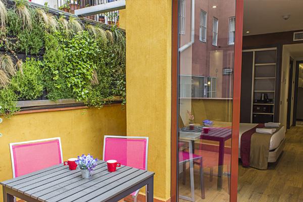 BOUTIQUE HOSTEMPLO - Habitación doble con terraza 5