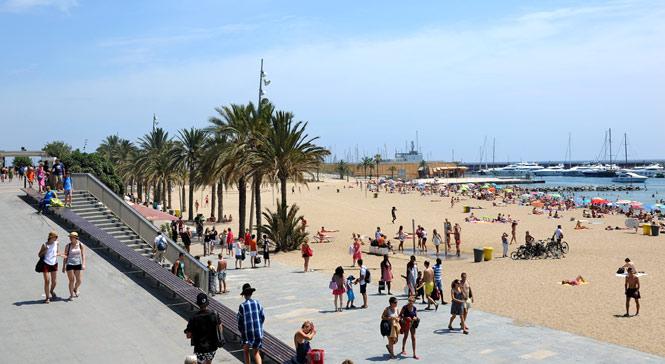playa somorrostro, Barcelona