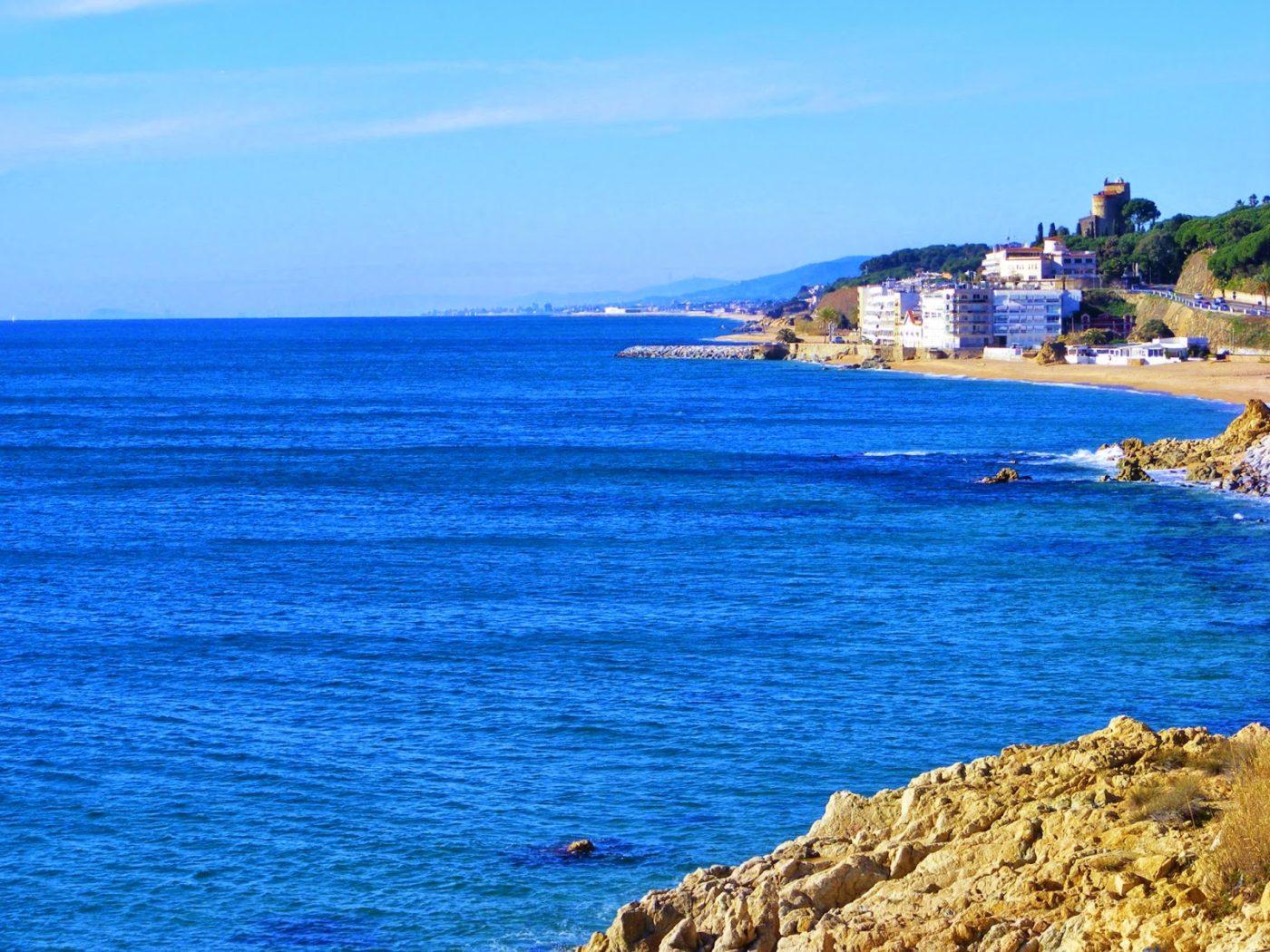 playas de barcelona, maresme