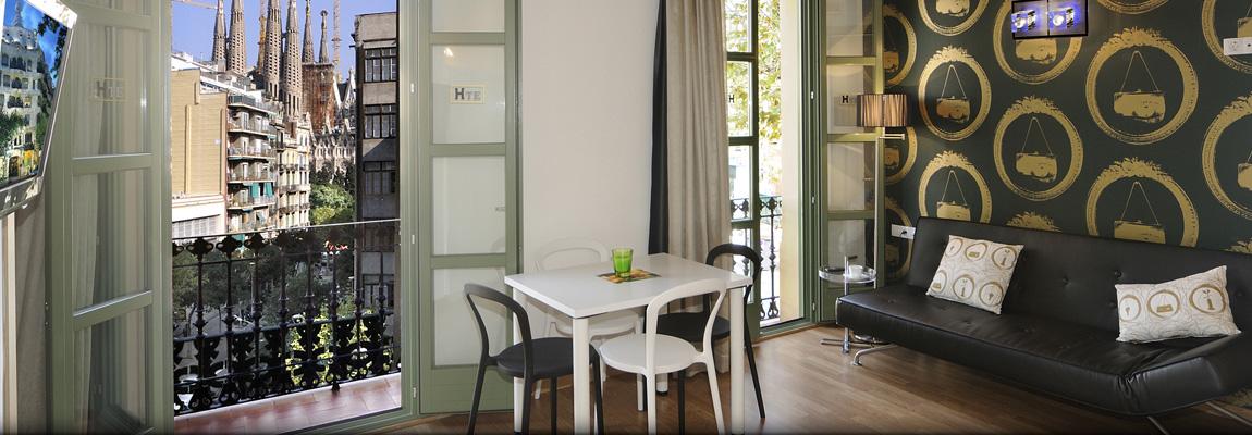 Apart-Suites Hostemplo - Apartamento Superior de 1 dormitorio con balcón 1