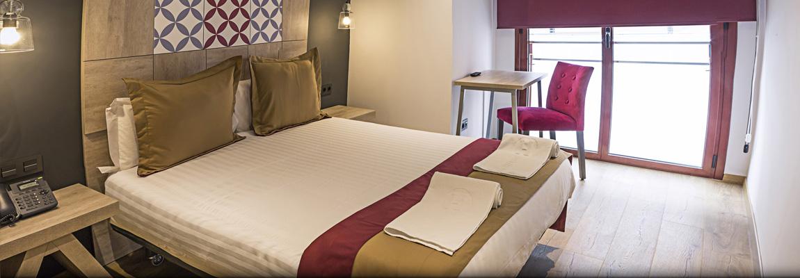 Hotel Boutique Hostemplo - Habitación doble estándar 1
