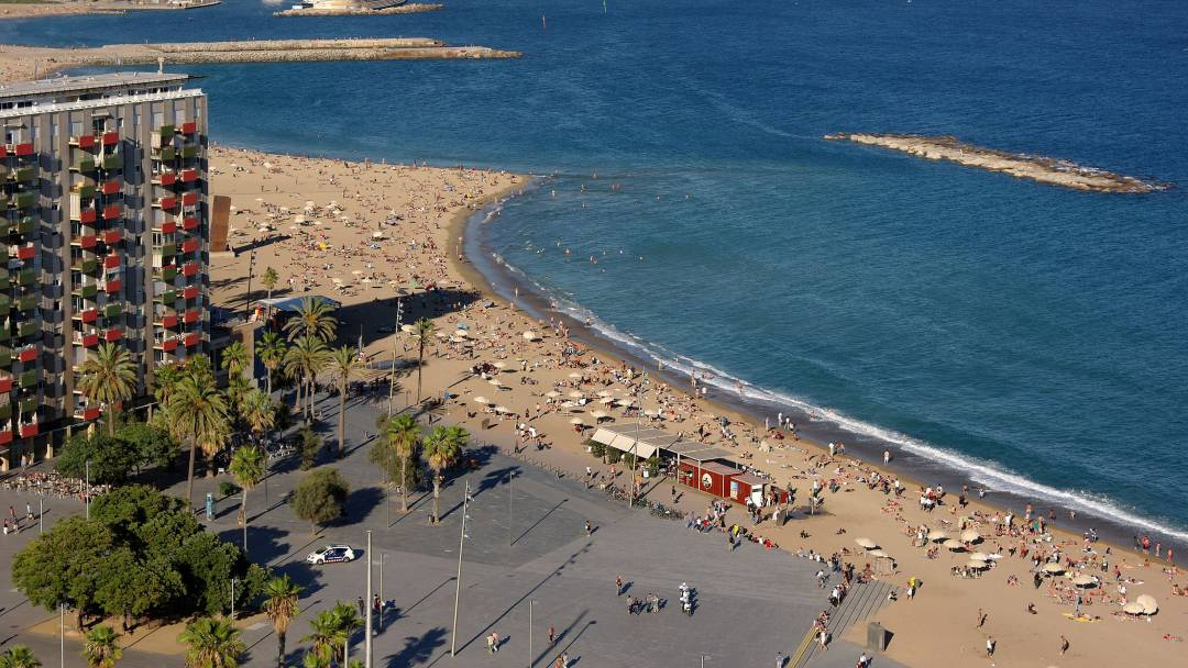 playa sant sebastià, Barcelona