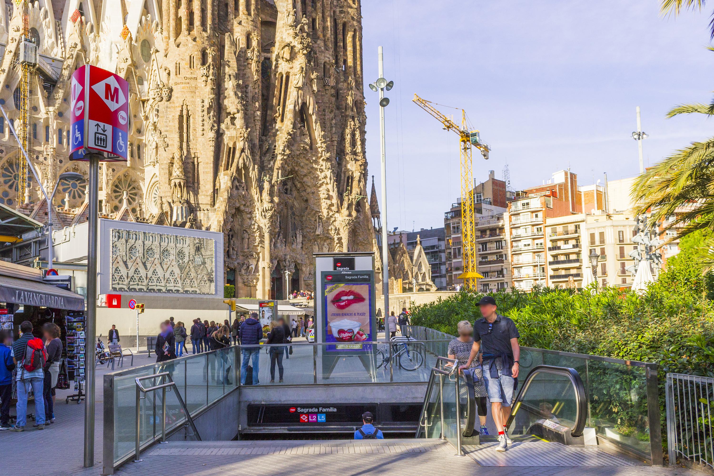 Metro Sagrada Familia, Barcelona