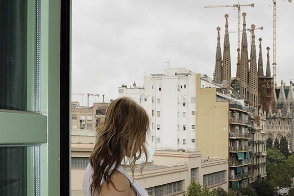 Hostemplo hotel apartamento sagrada familia eixample barcelona vistas