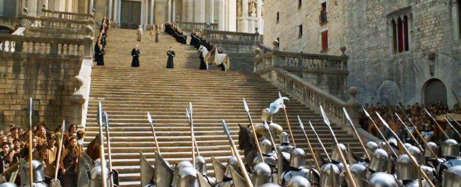 Catedral de Girona Juego de Tronos