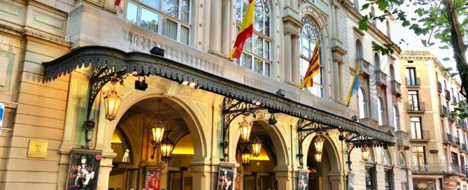 Fachada Teatro Liceu Barcelona